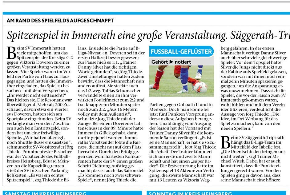 Aachener Zeitung 19042014