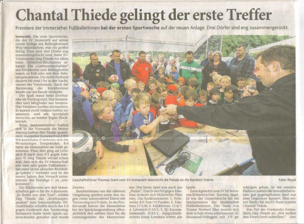 Rheinische Post 27.06.2013